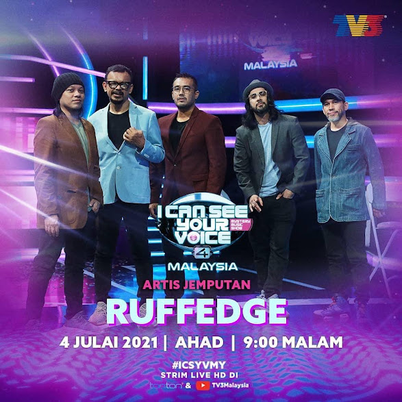 LIVE I Can See Your Voice Malaysia 4 Minggu 8 (4.7.2021)