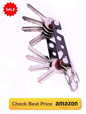 Multi-function Key Organizer Holds Upto 16 Keys