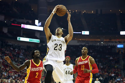 NBA : New-Look Pelicans Host Rockets