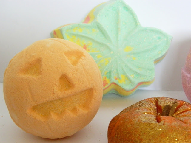 Lush Halloween Pumpkin Bath Bomb