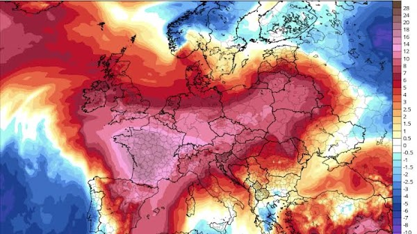Calor extremo lleva a Francia a activar alerta roja por primera vez en la historia.