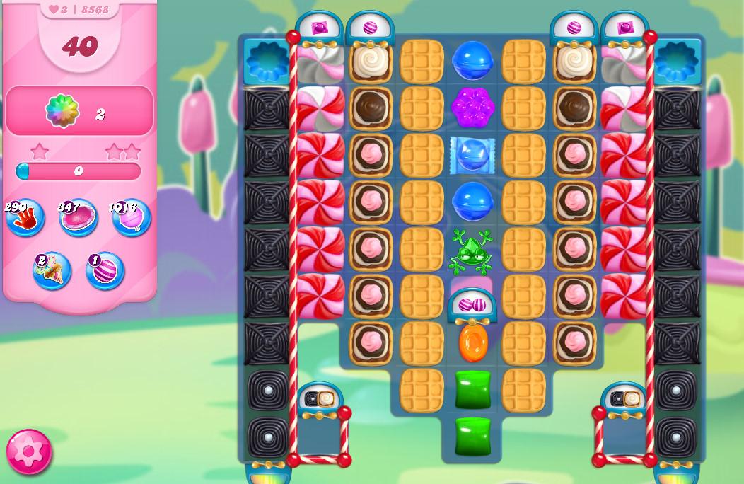 Candy Crush Saga level 8568
