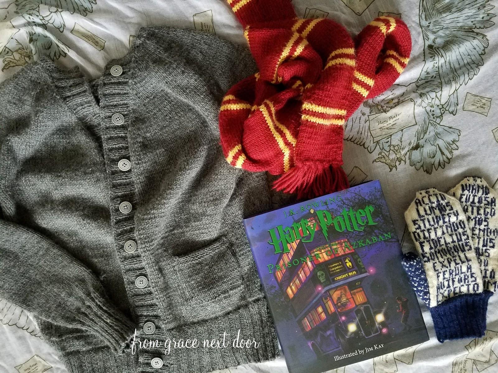 From Grace Next Door Harry Potter Sweater Ginnys Owl Cardigan