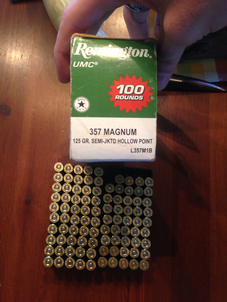 .357 Magnum Ammo  - Great Finds: Neighborhood Garage Sale Haul