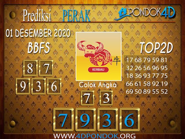 Prediksi Togel PERAK PONDOK4D 01 DESEMBER 2020