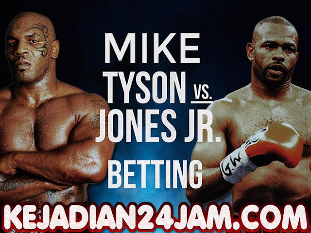 Pertandingan Mike Tyson Vs Roy Joner Jr Ditunda Demi Dongkrak Pemasukan