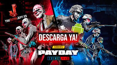 como descargar payday crime war