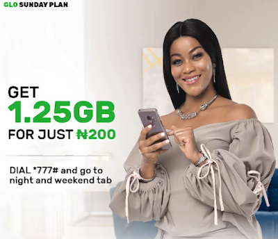 how to activate glo sunday data plan