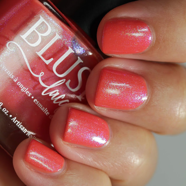 BLUSH Lacquers Kill Em With Kindness swatch by Streets Ahead Style