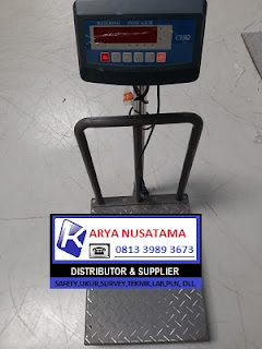 Jual Timbangan Besi Digital CHQ 40x50 Platform Bordess di Bogor