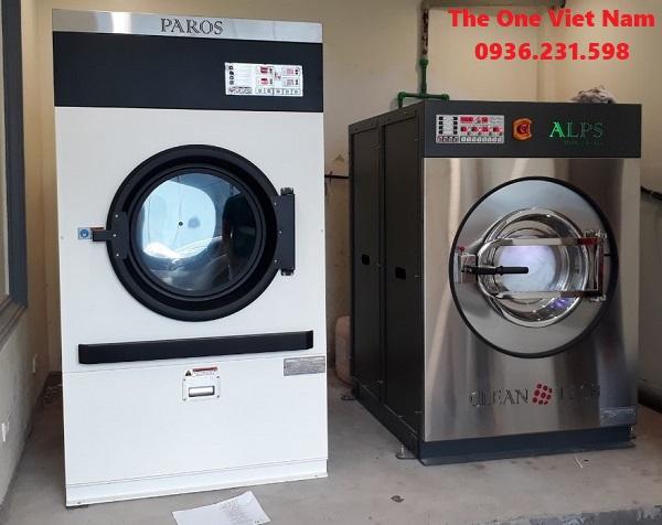Lắp đặt máy giặt công nghiệp cho khách sạn ở Cửa Lò – Nghệ An
