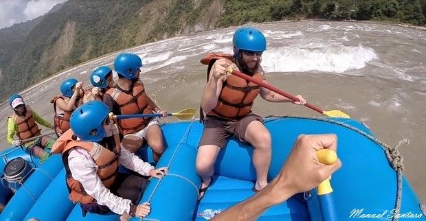 Rafting sul fiume Trisuli