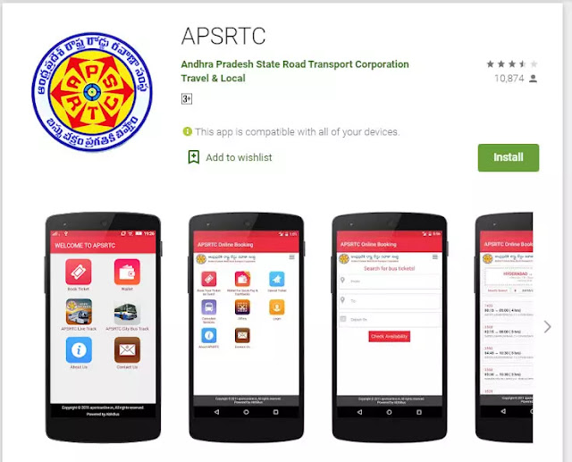 APSRTC Pratham App Download