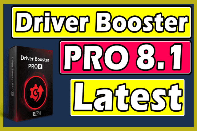 IObit Driver Booster Pro 8.1 Full Version Free Download No Key No Crack
