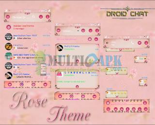 BBM Mod Rose Theme Pink v2.13.1.14 Apk Juni 2016