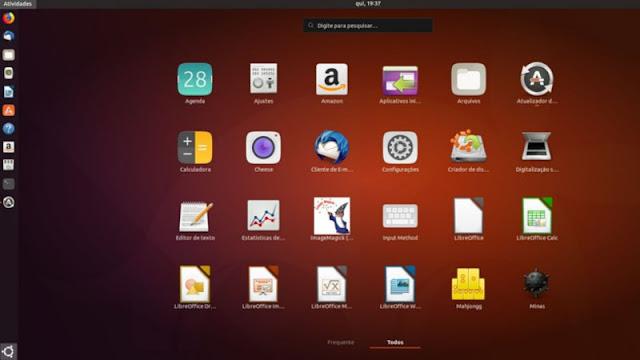 Ubuntu 18.04 Coletando dados