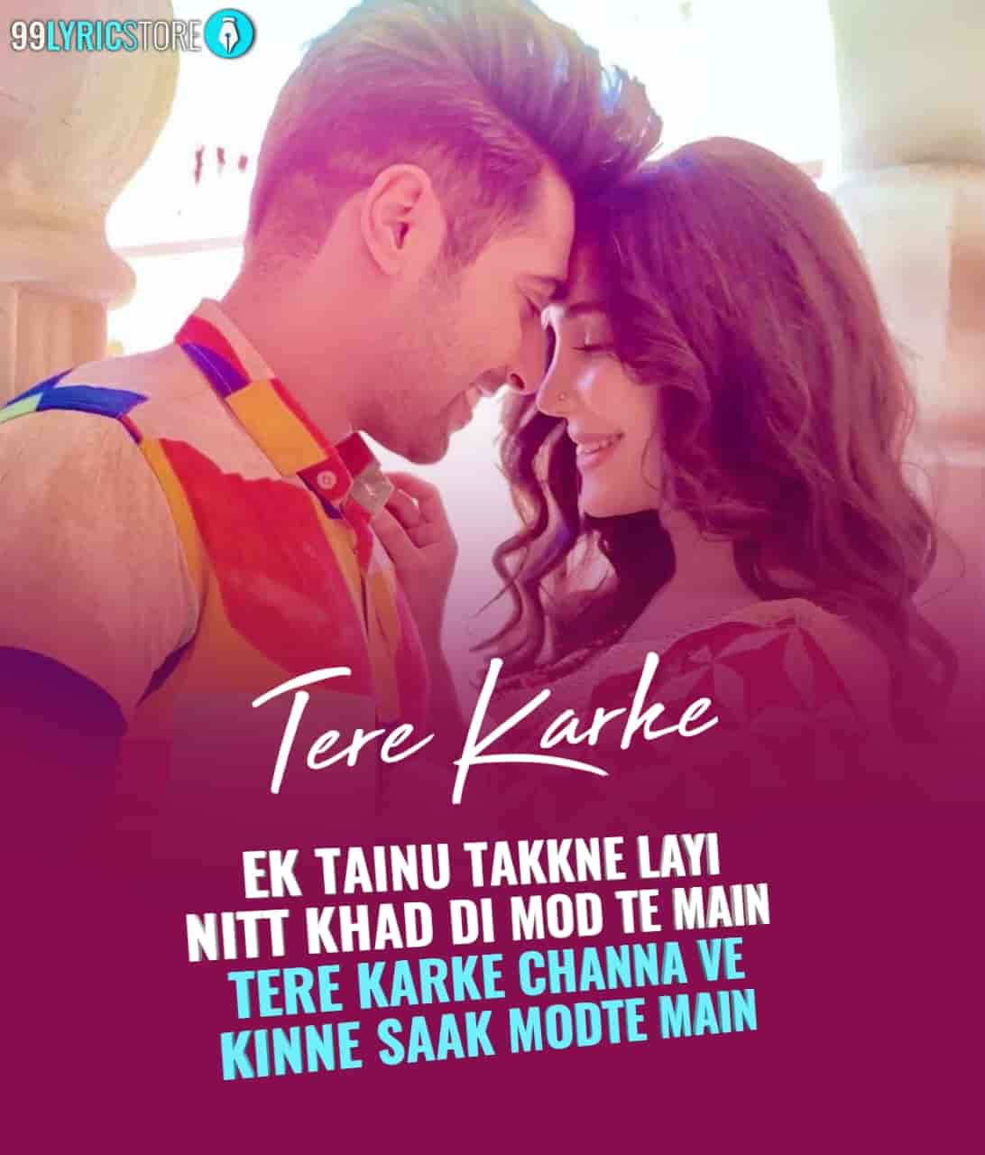 Tere Karke Song Image By Guri
