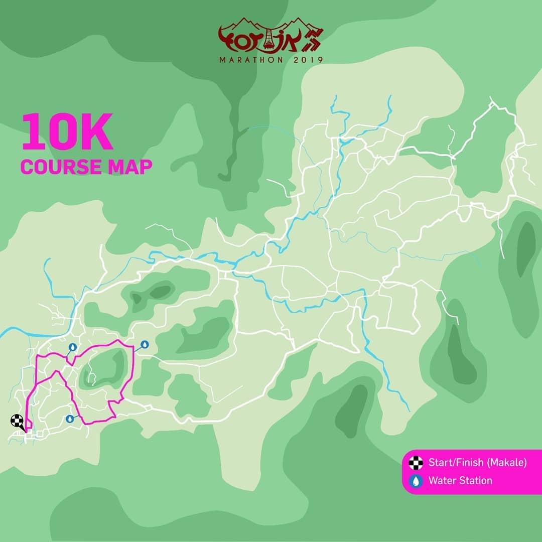 10K 👟 Toraja Marathon • 2019/2020