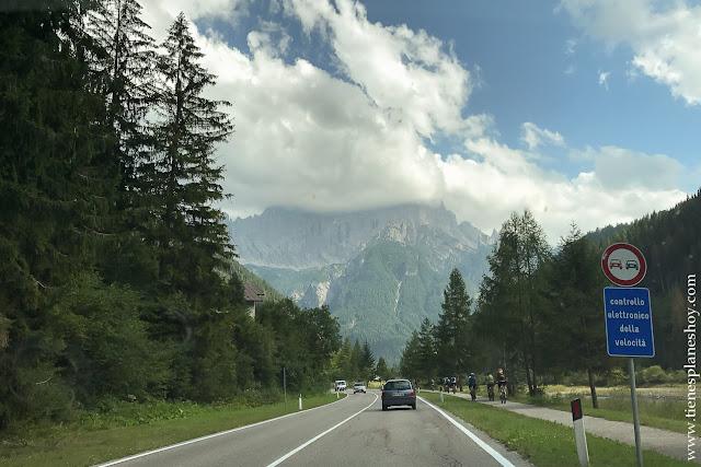Viaje norte Italia visitar Dolomitas