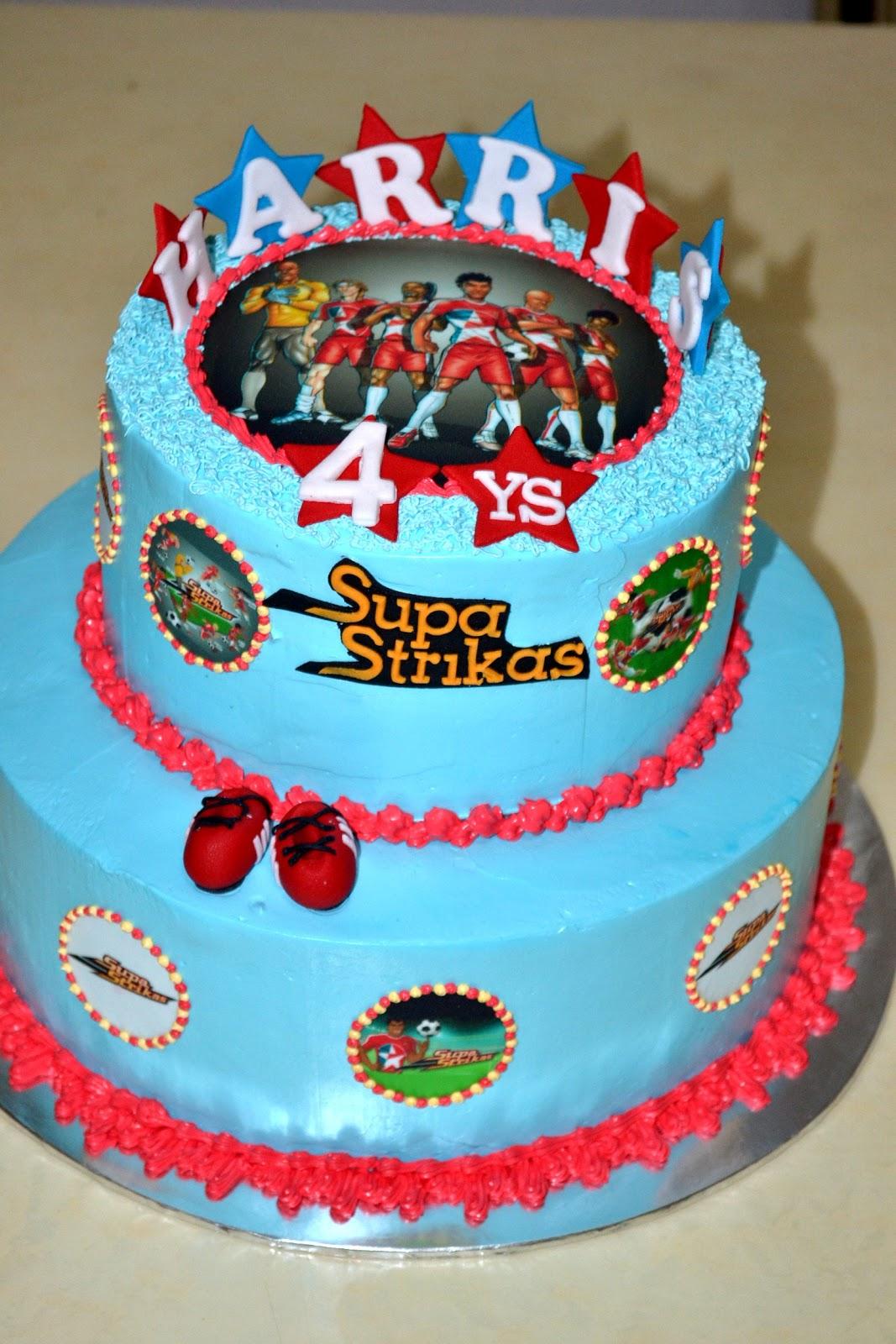 Mypu3 Cake House Supa Strikas Theme Cake