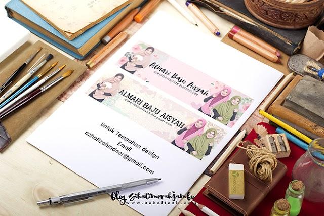 Design Header Blog Almari Baju Aisyah