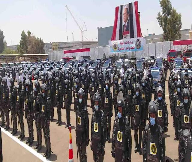 وزارة الداخلية تقوم بإجراءات أمنية واسعةلحماية وتأمين المواطنين أثناء إحتفالات عيد الأضحى المبارك