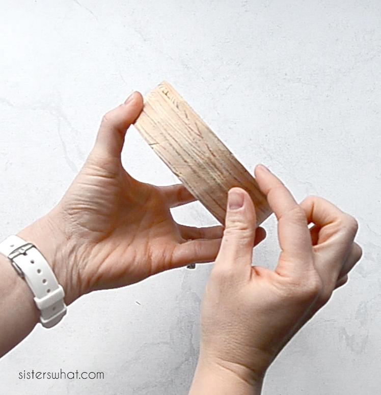 how to make a wood cake