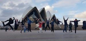 Mengejar Pemandangan Sunset dari Gedung Opera Sydney Australia
