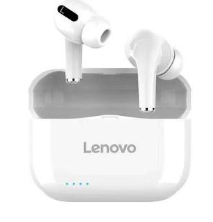 Fone de ouvido Lenovo lp1s tws Esportes Bluetooth 5.0
