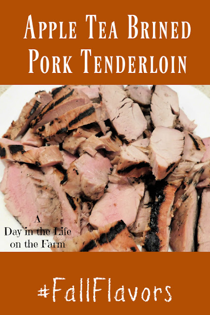 Apple Tea Brined Pork Tenderloin