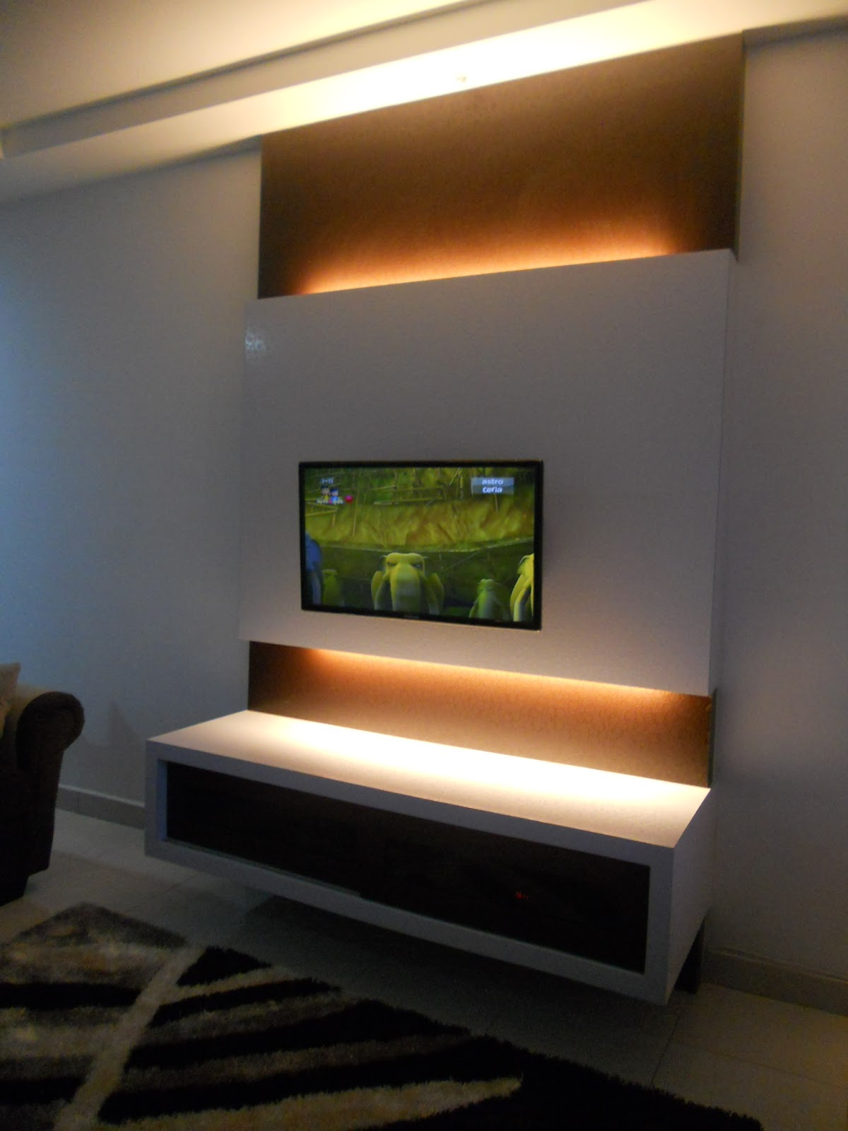 It s My LiFe kos pasang tv panel tv console tv kabinet