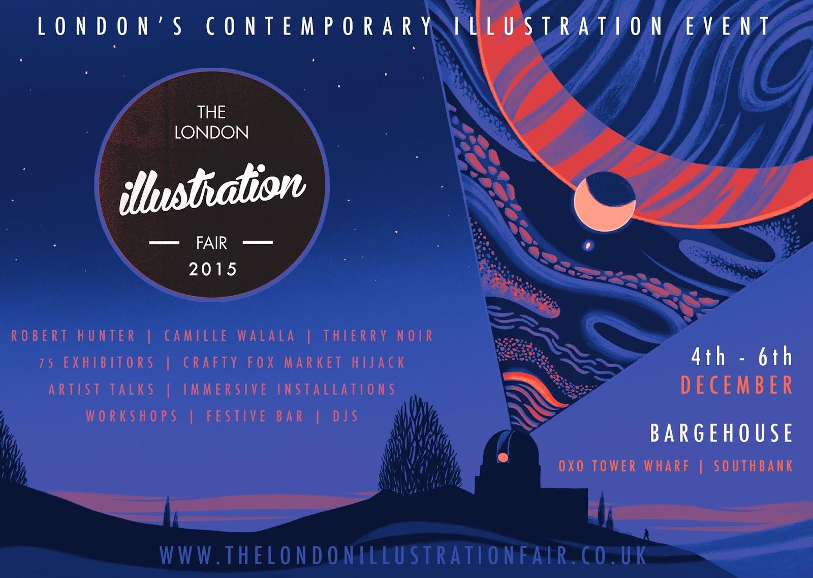 The-London-Illustration-Fair-2015