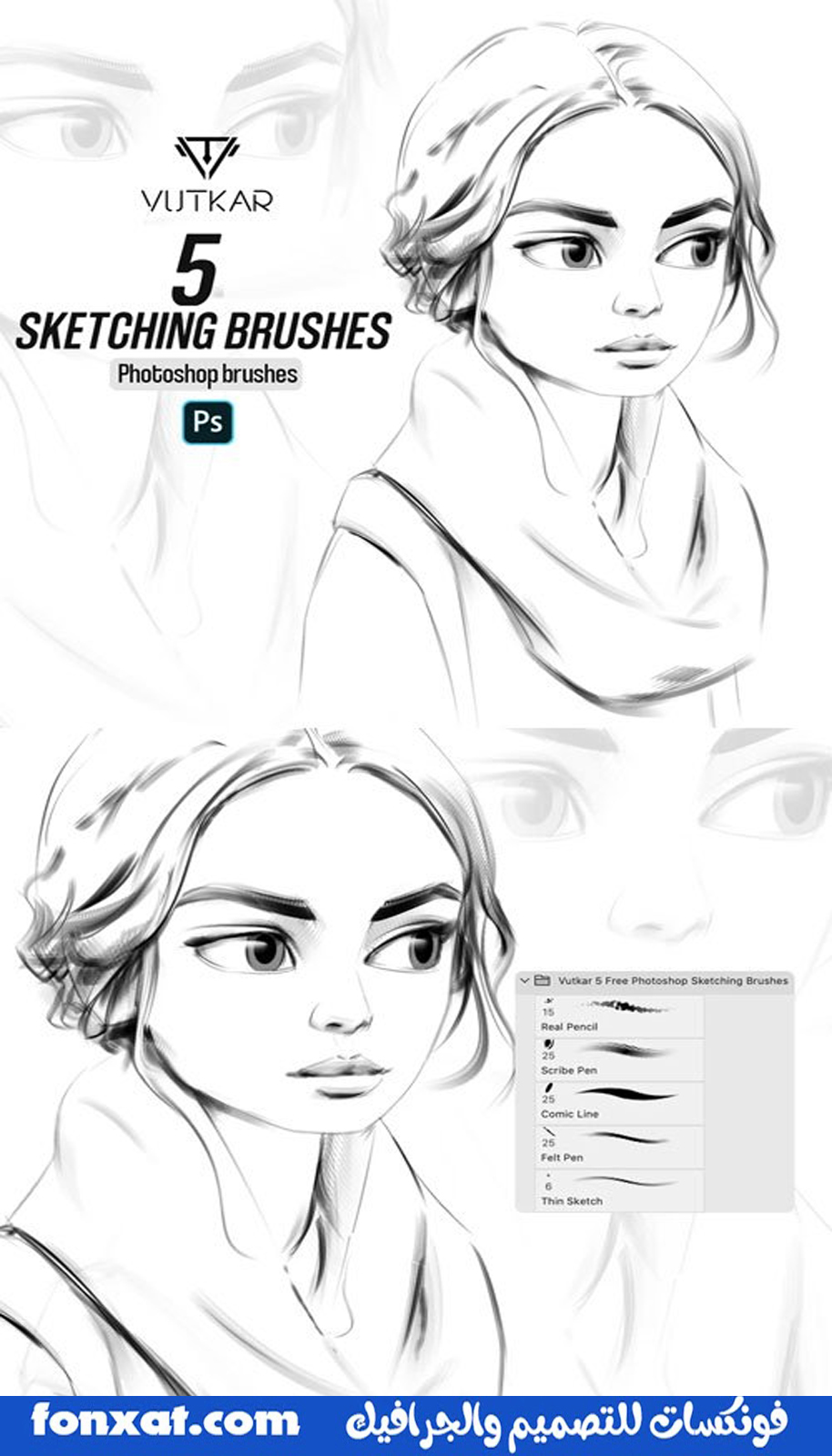 Download brushes for painting, professional brushes for Photoshop, free download