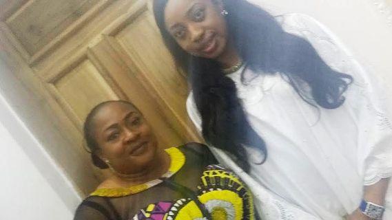 Nollywood actress, Foluke Daramola-Salako pay a courtsey visit to Ooni of ife and his wife Olori Wuraola