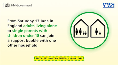 Support bubbles for single people and single parents