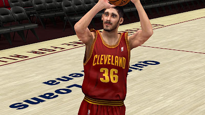 NBA 2K13 Omri Casspi Cyberface NBA2K Patch