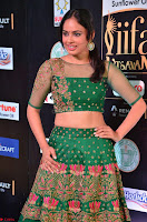 Nandita Swetha in a tight Green Choli Ghagra at IIFA Utsavam Awards March 2017 ~ 025.JPG