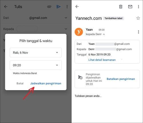Cara Kirim Email Terjadwal