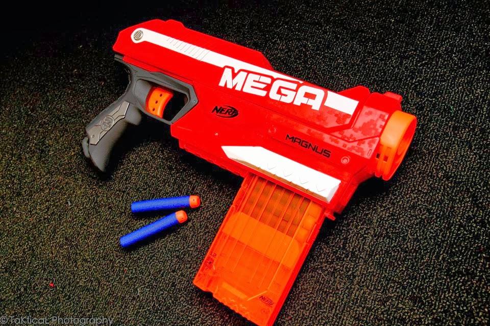 nerf pistol mega