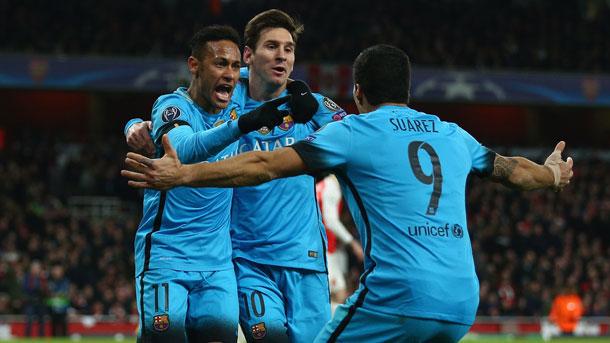 El tridente del FC Barcelona es el más mortífero del mundo