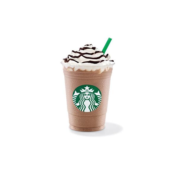 Starbucks Coconut Vanilla Chocolate Cream Frappuccino