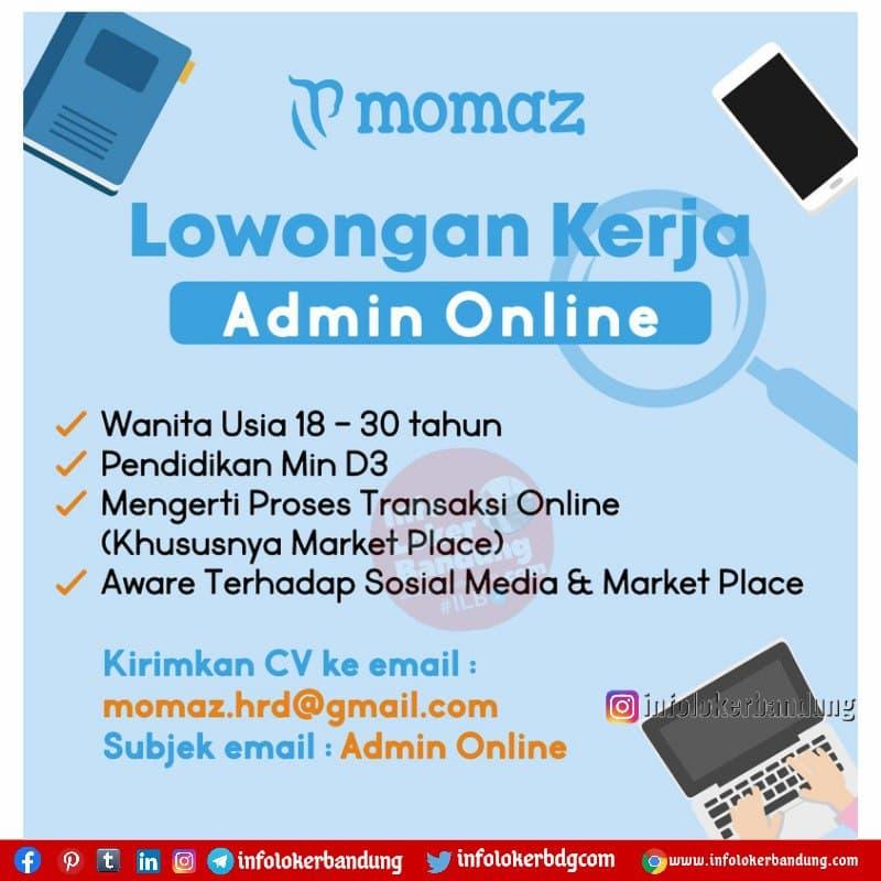 Lowongan Kerja Momaz Bandung Juli 2021