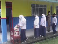 MTs Al-Hikmah Durai Karimun Terapkan Pembelajaran Tatap Muka Dengan Prokes
