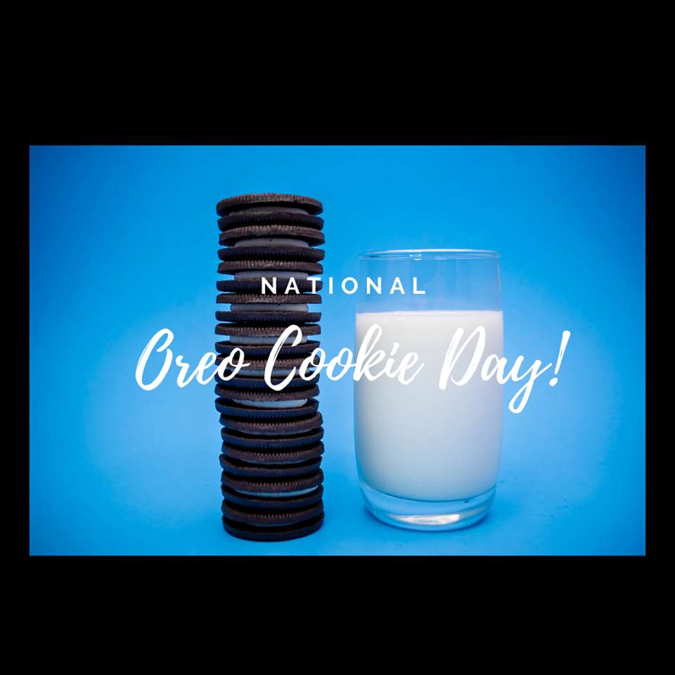 National Oreo Cookie Day Wishes Pics