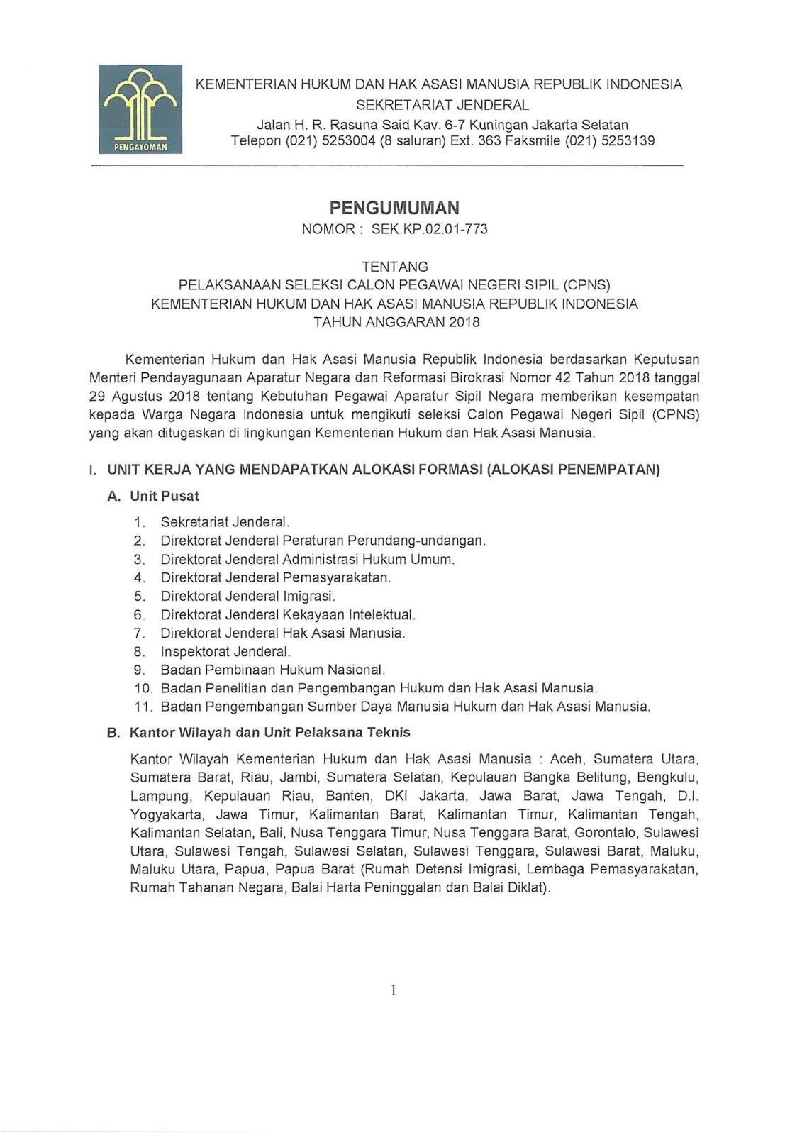 Lowongan Cpns Kemenkumham 2018 : lowongan, kemenkumham, Lowongan, Kementerian, Hukum, Republik, Indonesia, Tahun, [2000, Formasi], REKRUTMEN, LOWONGAN, KERJA, BULAN, MARET
