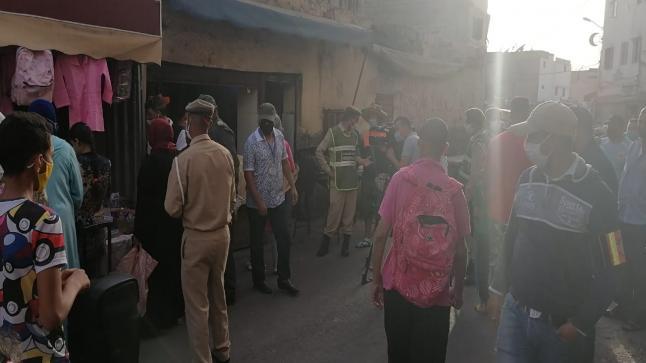 السلطات المحلية تواصل حملاتها التحسيسية بمنطقة بنسركاو