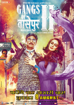 Gangs Of Wasseypur 2 2012 BluRay 450MB Full Hindi Movie Download 480p Watch Online Free bolly4u