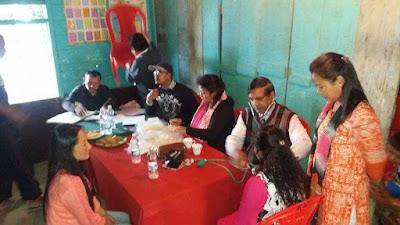 Free health camp guruji mangal prabha samity