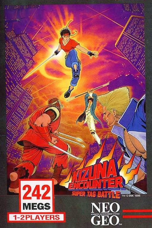 Kizuna Encounter+arcade+game+portable+art+flyer
