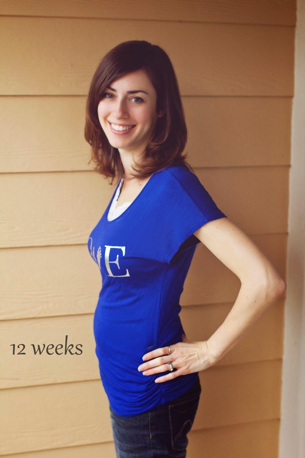 Danielle Dail: 12 Weeks Pregnant!